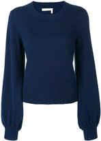 Chloé bell sleeved sweater - women - Cashmere - XXS/XS