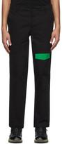 Rochambeau Black Pocket Trousers
