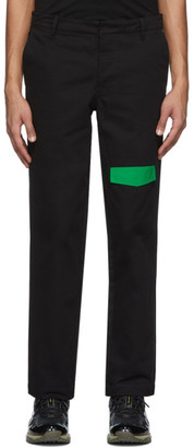 Rochambeau Black Pocket Trousers