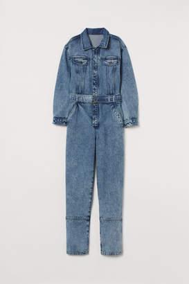 H&M Denim boiler suit - Blue