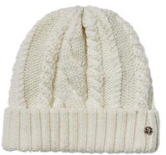 Helen Kaminski Fitted Cable Stitch Merino Wool Beanie