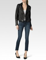 Paige Roanna Jacket - Black Leather