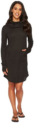 TYR Zoe Hooded Dress (Black) Women's Dress