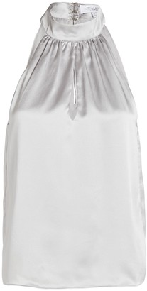 Intermix Dina Sleeveless Silk Top