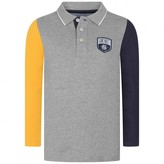 Gant GantBoys Grey Colour Block Polo Shirt