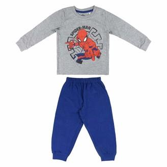CERDA ARTESANIA Boy's Pijama Largo Single Jersey Spiderman Pyjama Sets