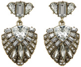 BaubleBar Sphynx Layered Crystal Drop Earrings