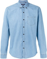 Woolrich chambray shirt - men - Cotton - M