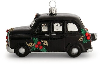 Harrods London Black Cab Tree Decoration