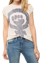 Madeworn Rock Women Rule Crew Tee
