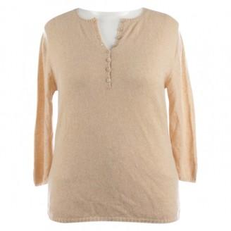 Iris von Arnim Beige Cashmere Knitwear