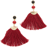 Shashi Mia Fan Tassel Earrings