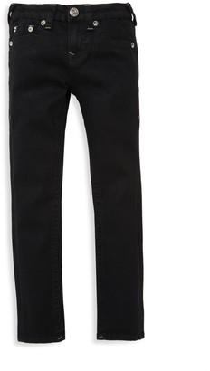 True Religion Boy's Slim Logo Jeans