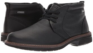 Ecco Turn Gore-Tex Chukka Tie (Black) Men's Lace-up Boots