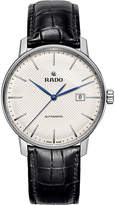 Rado R22876015 Coupole Classic stainless steel and leather watch