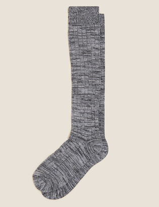 Marks and Spencer 2 Pack Sumptuously Soft Thermal Knee High Socks