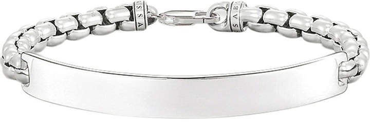 Thomas Sabo Lovebridge sterling silver venetian chain bracelet