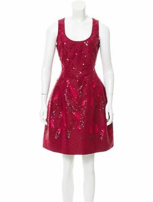 Prabal Gurung Silk Embellished Dress