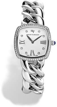 David Yurman Albion Stainless Steel Watch with Diamonds, 27mm