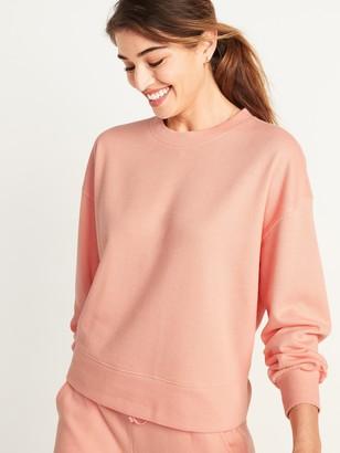 Old Navy French-Rib Lounge Sweatshirt for Women