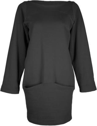 Format DEAR Black Sweat Dress - XS - Black