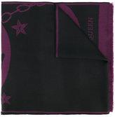 Alexander McQueen intarsia-knit scarf