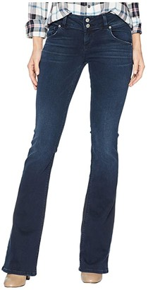 Hudson Signature Mid-Rise Bootcut in Down N Out (Down N Out) Women's Jeans