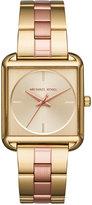 Michael Kors Women's Lake Two-Tone Stainless Steel Bracelet Watch 32x32mm MK3665