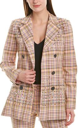 Carolina Herrera Silk-Lined Blazer