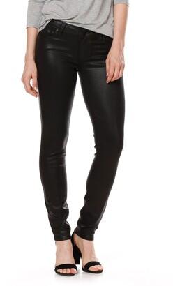 Paige Transcend - Verdugo Coated Skinny Jeans