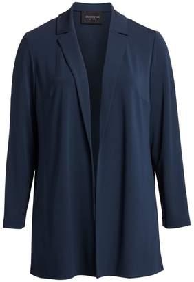 Lafayette 148 New York Lafayette 148 New York, Plus Size Rainey Notch Collar Soft Blazer