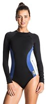 Roxy Women's Tall Size Lisa Andersen Long Sleeve One Piece Swimsuit