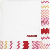 Missoni Cotton Jersey Padded Blanket W/ Zigzag