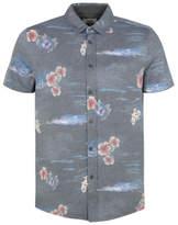 George Floral Print Jersey Shirt