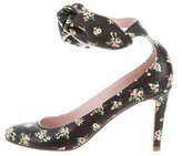 Carven Floral Bow-Accented Pumps