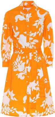 Carolina Herrera Floral stretch-cotton shirt dress