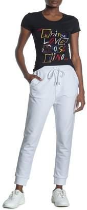 Love Moschino Solid Logo Pocket Joggers