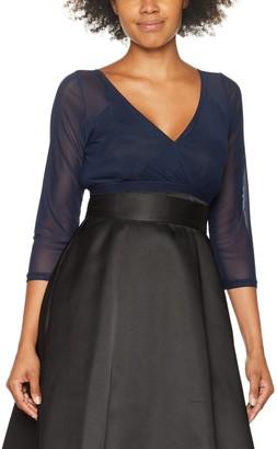 Gina Bacconi Women's Mesh Long Sleeve Top