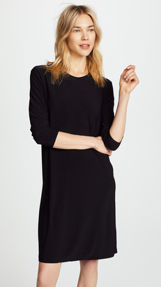 Norma Kamali Kamali Kulture Go Crew Neck Dress