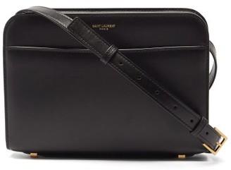 Saint Laurent Reversed Leather Cross-body Bag - Black