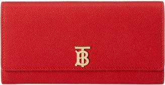 Burberry Halton Monogram Motif Leather Continental Wallet