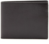 Common Projects Bi-fold pebbled-leather wallet