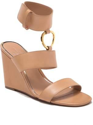 Linea Paolo Eva Ankle Strap Wedge Sandal