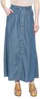 JW Signature Denim Maxi Skirt