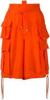 DSQUARED2 long shorts - women - Silk - 42