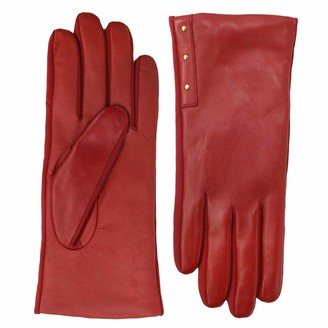 Fownes Brothers & Company Women's Legacy Leather Gloves with Stud Detail