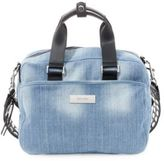 Steve Madden Embellished-Strap Denim Bag