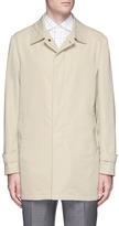 Isaia 'San Gennaro' cotton blend coat