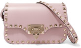 Valentino The Rockstud Leather Shoulder Bag - Blush