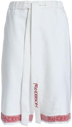 J.W.Anderson Linen-jacquard Shorts